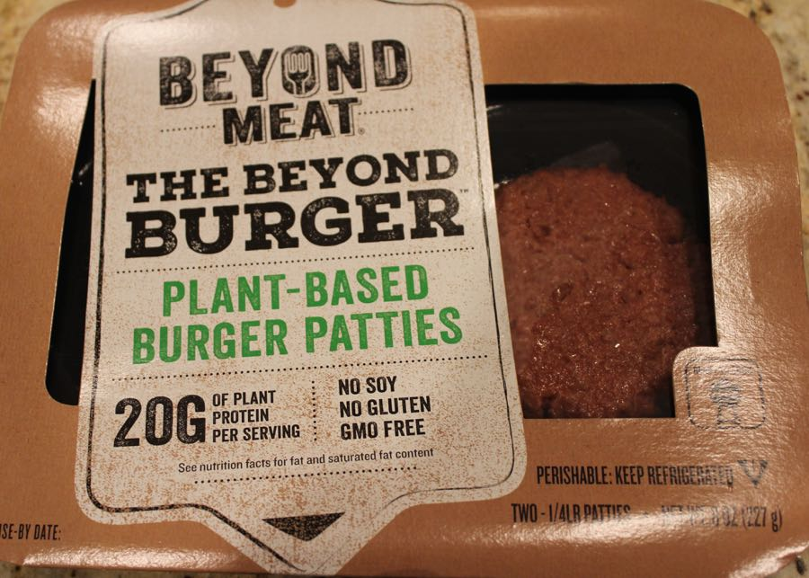 Beyond Meat, the Beyond Burger, plant based burger patties, full review on www.cookwith5kids.com
