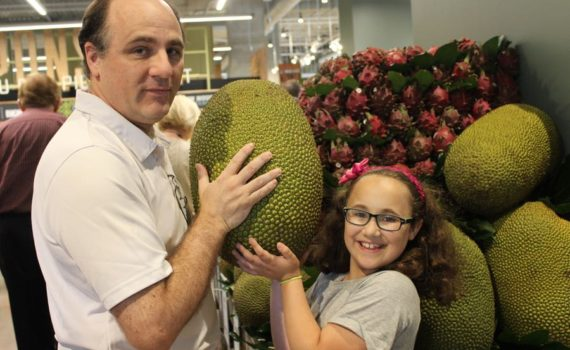 10 pound jackfruit at the new Whole Food at Pentagon City