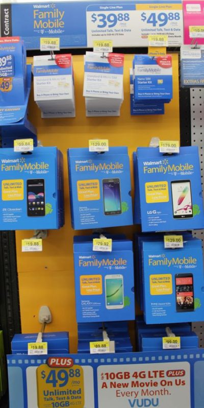 Walmart Family Mobile Plan, Only $49.88 a month for unlimited talk, text and data