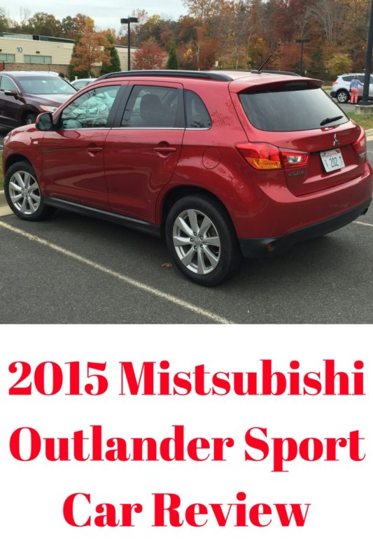 2015 Mistsubishi Outlander SportCar Review