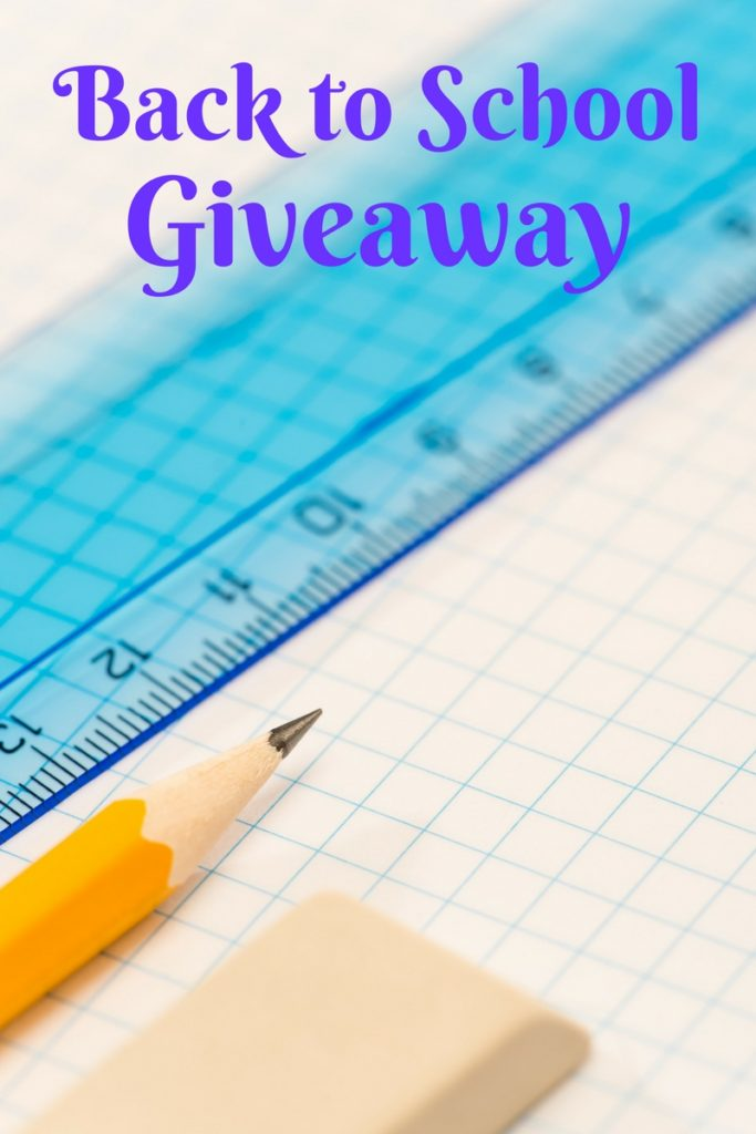 Back to School Giveaway: Enter today at www.cookwith5kids.com