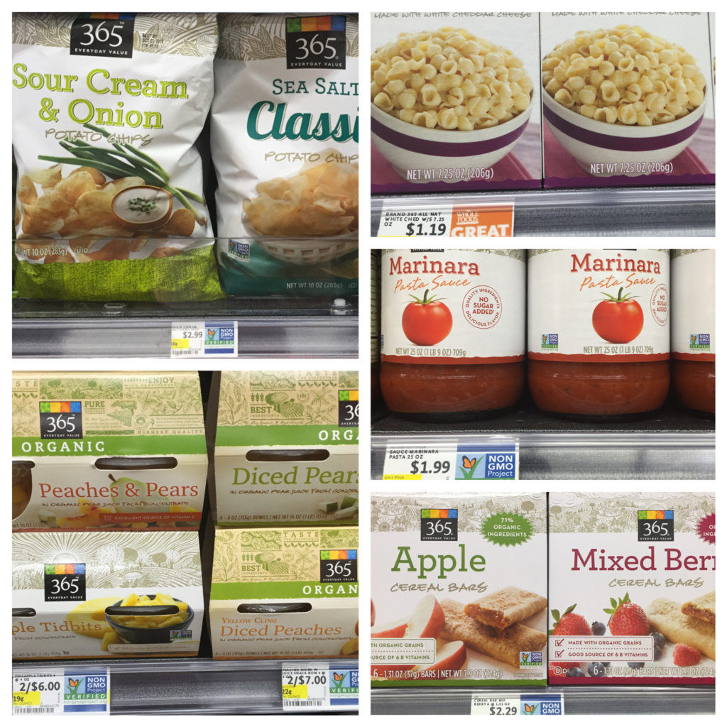 Whole Food NOVA 365 Brand for Back to School Shopping