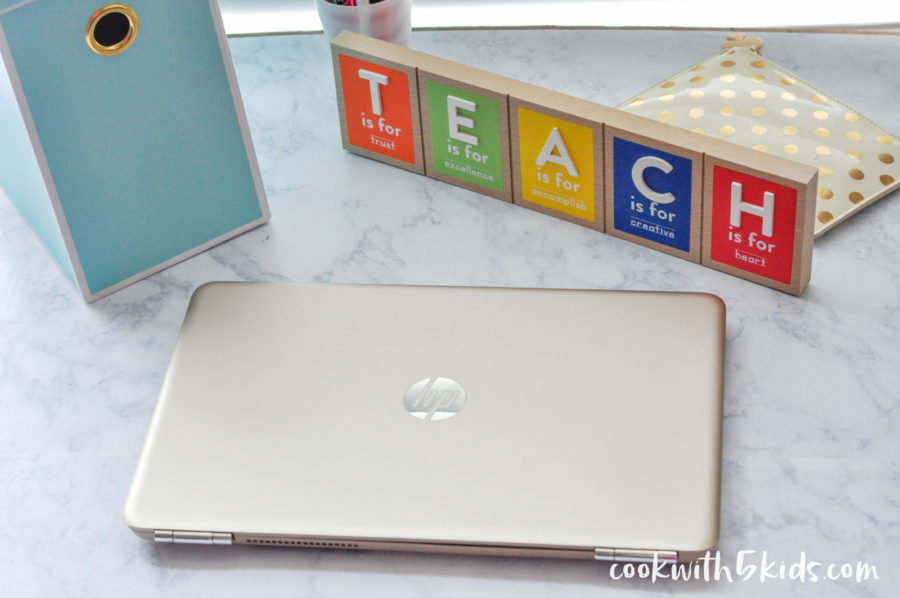 Back to School Shopping with HP Laptop Teachers Classroom Printables