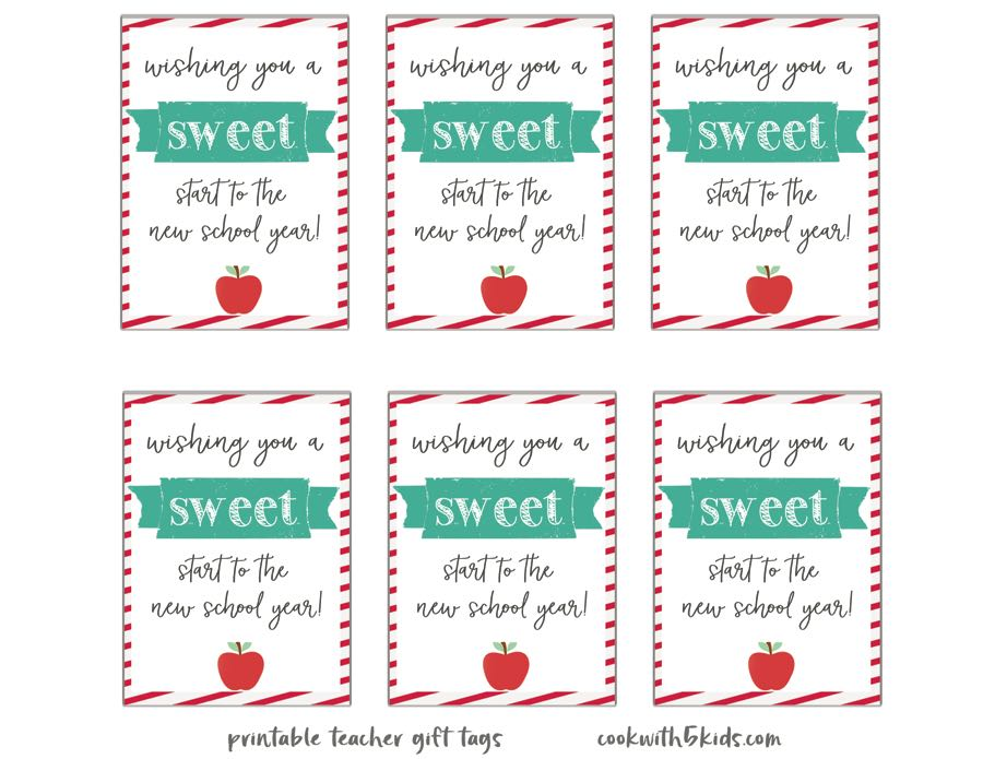 Back To School Shopping Free Printables For Teachers