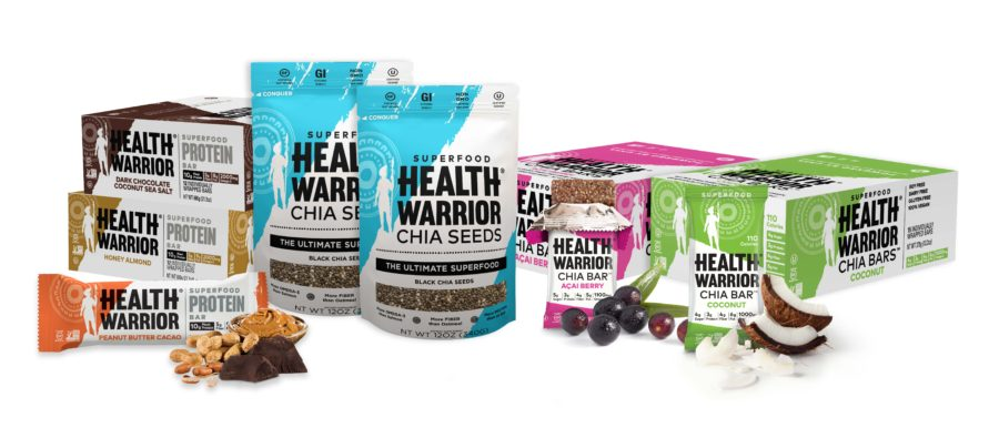 health warrior chia bars giveaway at www.cookwith5kids.com