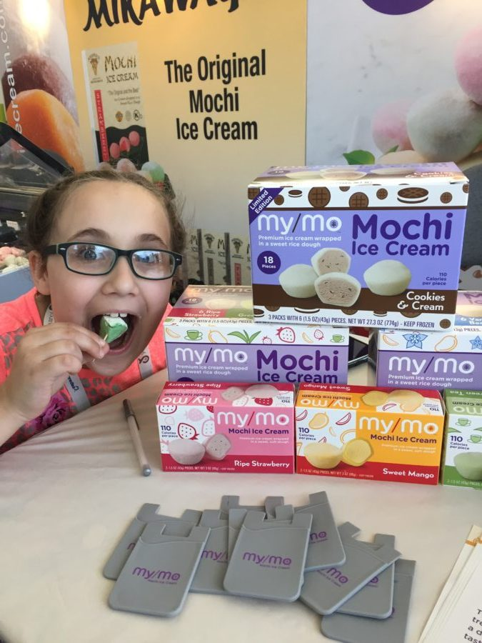 MyMo Mochi Ice Cream found at #ExpoEast #ExpoBlogger Full story at www.cookwith5kids.com