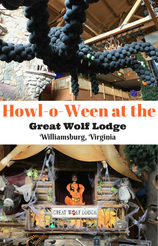 Great Wolf Lodge in Williamsburg, VA review at www.cookwith5kids.com