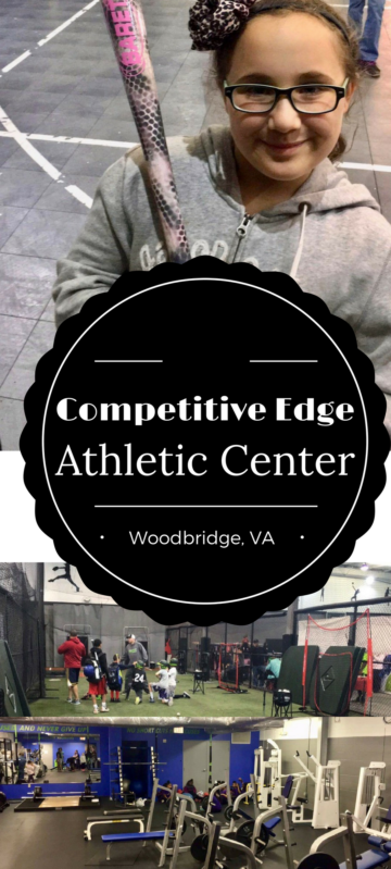 Competitive Edge Indoor Athletic Training Center in Woodbridge, Virginia Full story at www.cookwith5kids.com