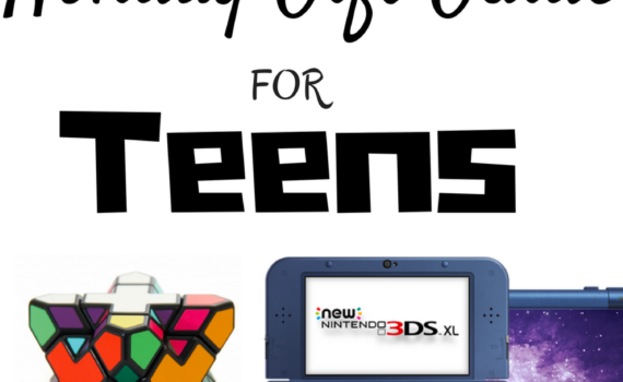Holiday Gift Guide for Teens. What do you buy the teenagers in your life? Full story and gift ideas at www.cookwith5kids.com