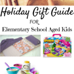 Elementary Aged Kids Gift Guide. Full story at www.cookwith5kids.com
