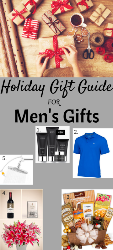 Men's Gift Guide. Full story at www.cookwith5kids.com