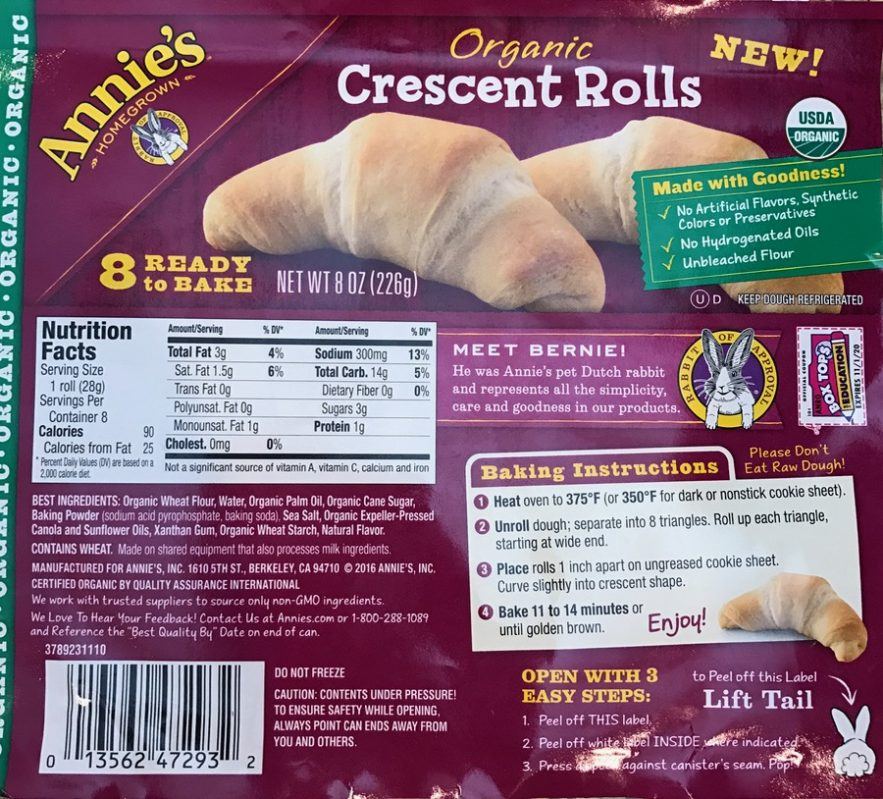 "Easy ""Brie""zy Fruit Crescent Rollups with Annie's Organic Crescent Rolls. Full story at www.cookwith5kids.com"