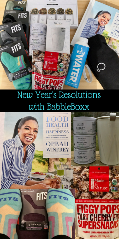 New Year's resolutions with Babbleboxx full story at www.cookwith5kids.com