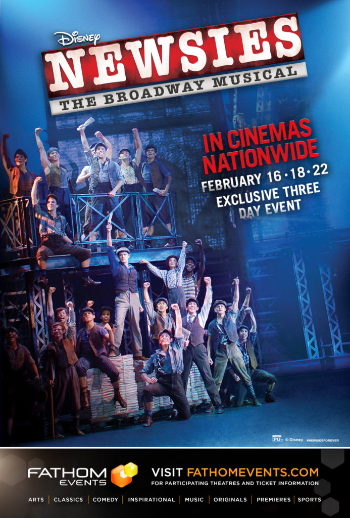 Disney Newsies ticket giveaway