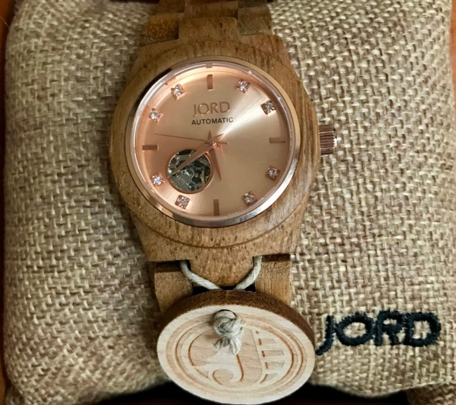 Wood watches from JORD,