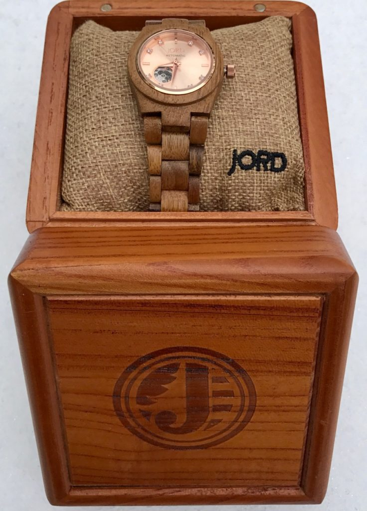 Wood Watch Review and Giveaway