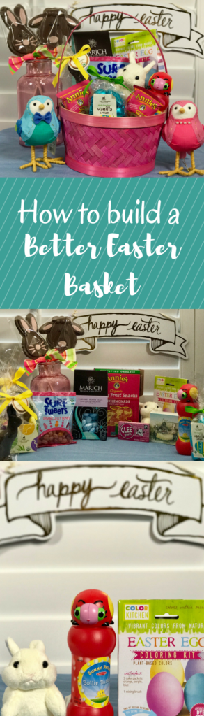 How to build a better Easter Basket. www.cookwith5kids.com