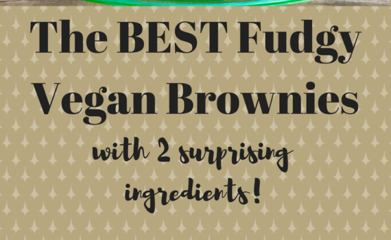 The BEST Fudgy Vegan Brownies