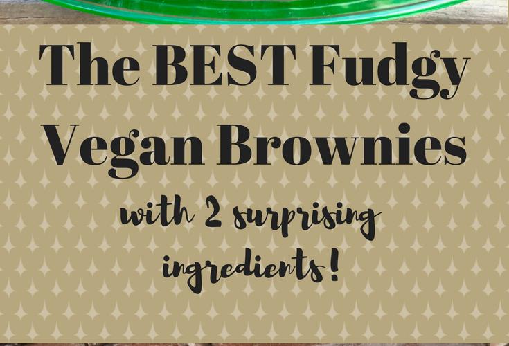 The BEST Fudgy Vegan Brownies