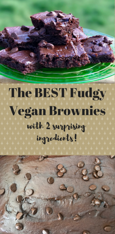 Vegan Brownies With Avocado And Aquafaba Non Dairy And Fudgy