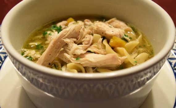 Chicken Soup in the Instant Pot in 30 minutes! via Cookwith5kids @cookwith5kids mom blog
