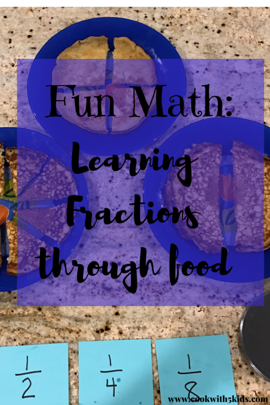 Fun Math- Oatmeal Pancakes and Cooking with Fractions