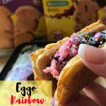 Eggo Rainbow Breakfast Taco #LeggomyEggo #HeartheNews #ad #shop