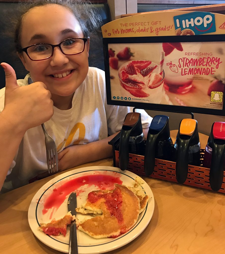 Road Trip Entertainment and quick eats at IHOP
