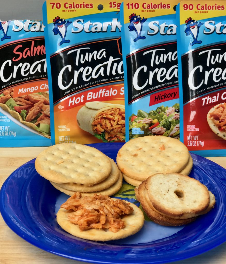 Starkist protein snacks tear eat and go via Cookwith5kids @cookwith5kids mom blog