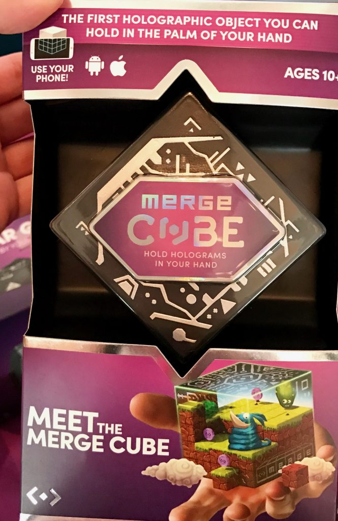 hot new toys at Blogger Bash: Merge Cube