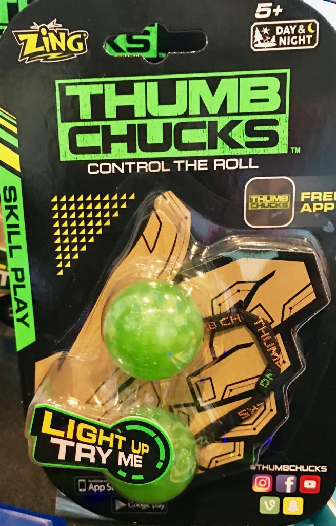 hot new toys at Blogger Bash: Thumb Chucks by Zing toys