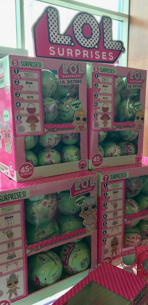hot new toys at Blogger Bash: LOL