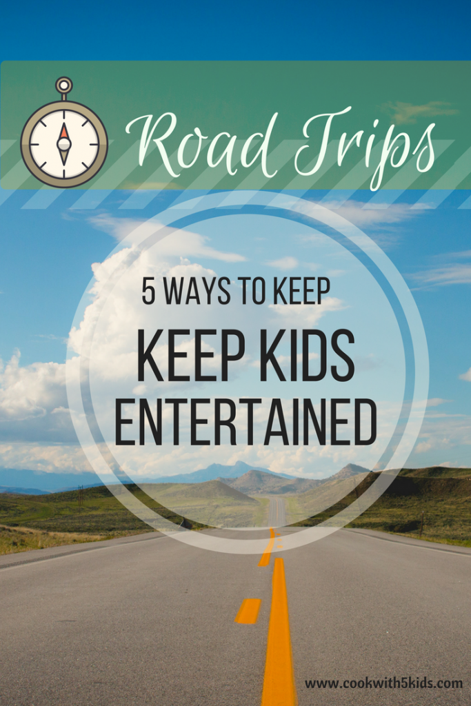 Road trip entertainment for kids. How do you keep your kids entertained on a long car ride? Printable scavenger hunt included