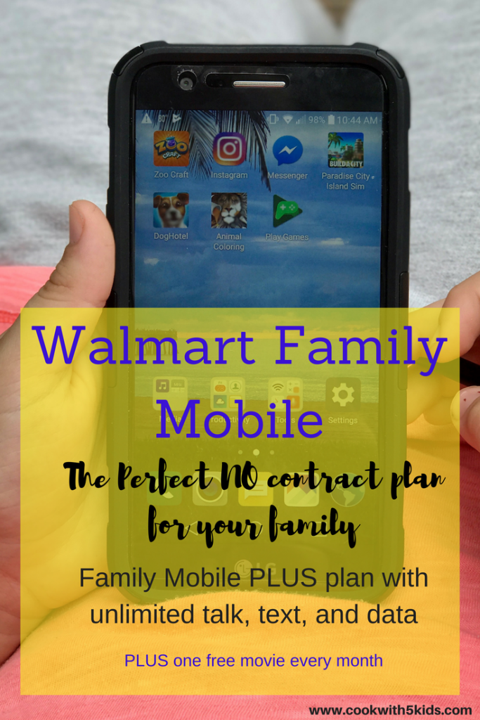 walmart family mobile no contract phones