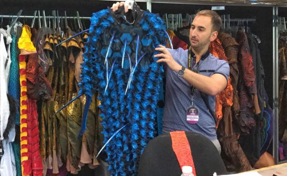 Cirque Du Soleil OVO behind the scenes