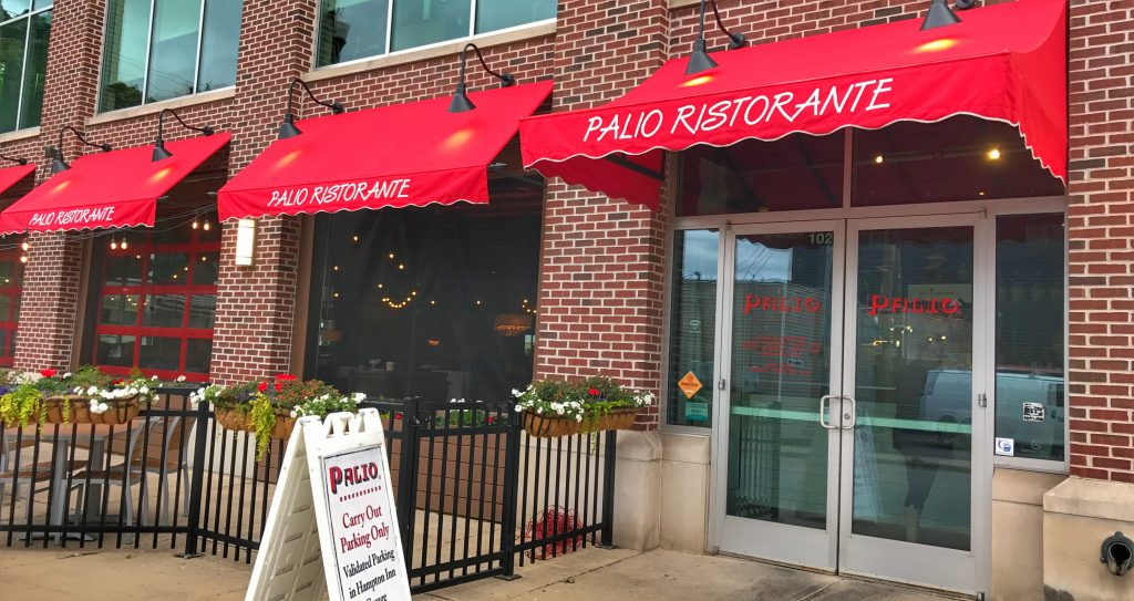 Palio Restaurant in Grand Rapids, Michigan part of the Where to Eat in Grand Rapids roundup