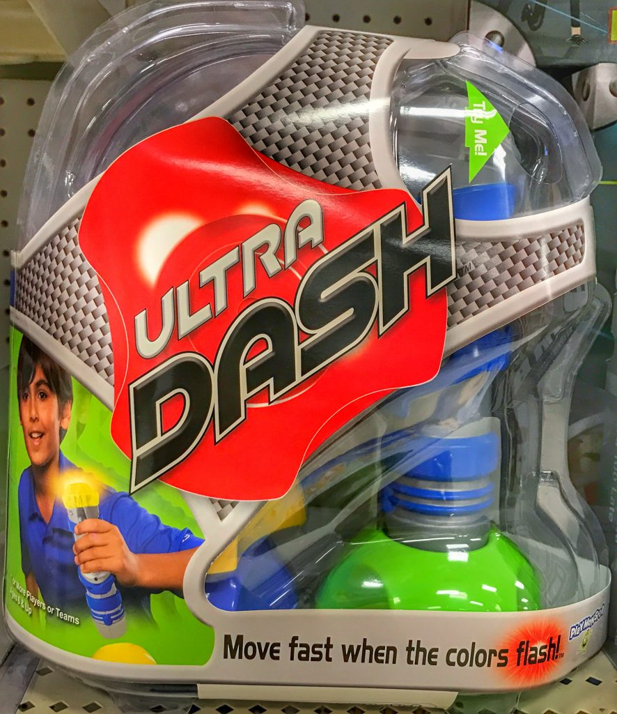 Ultra Dash game great for high energy kids. Part of the back to school survival guide