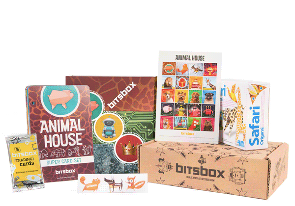 Bitsbox monthly coding subscription box. Part of the back to school survival guide