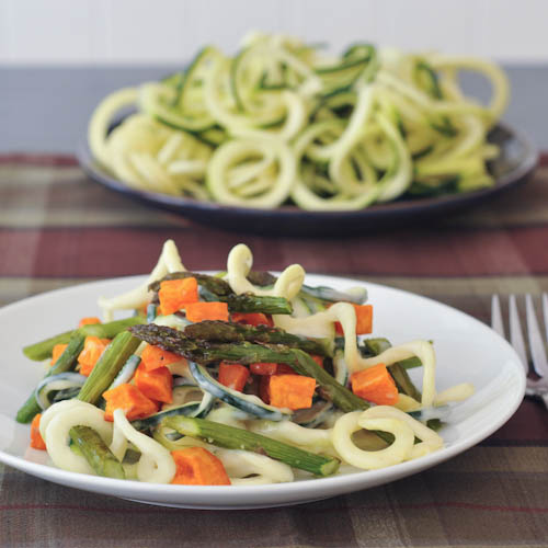 Spiralizer Vegetable Recipes Roundup