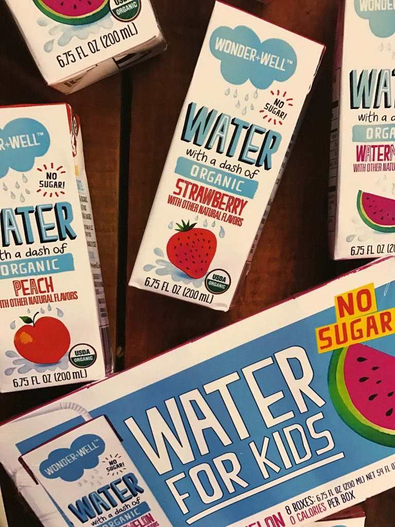 Drink wonderwell organic juice boxes