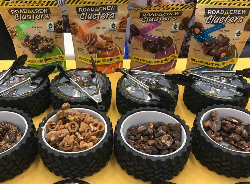 Road Crew Clusters the gluten free NonGMO healthier snack