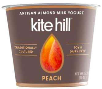 Kite Hill non dairy yogurt made from almond milk