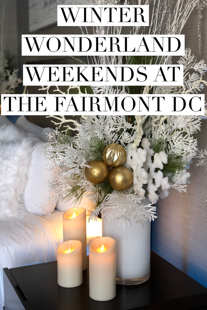 Book your Winter Wonderland Weekend with Santa at the Fairmont DC