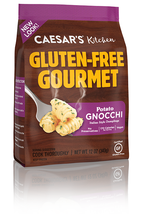 Gluten free gnocchi from Caesar's Kitchen
