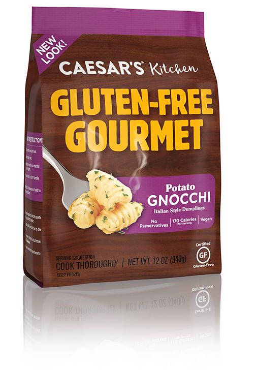 Gluten free gnocchi from Caesar's Kitchen