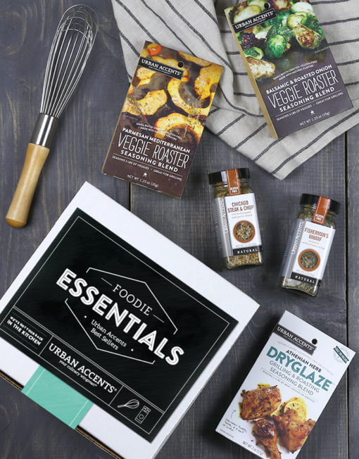 foodie gift guide, gourmet seasonings blend gift idea
