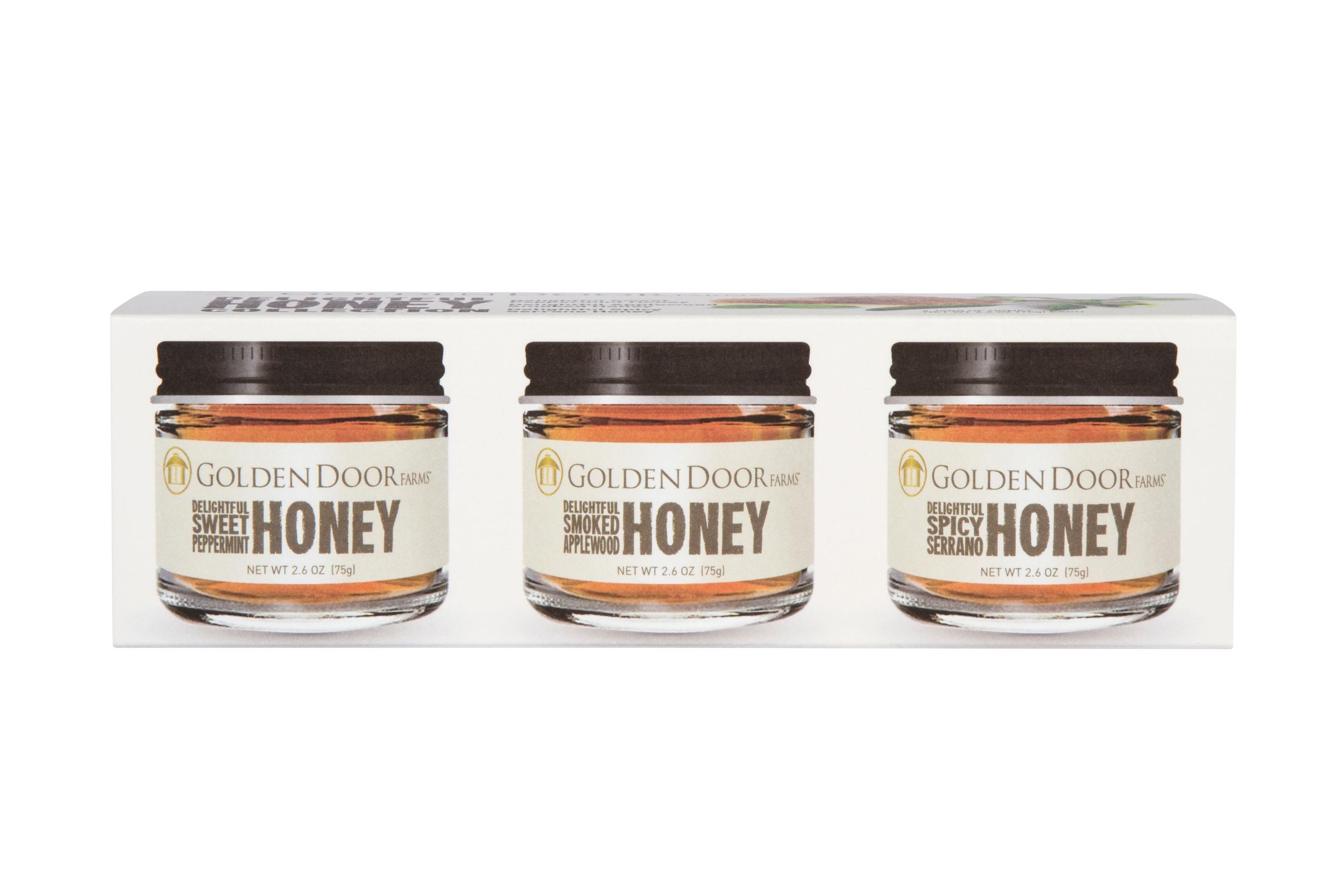 golden door honey trio makes a perfect foodie gift