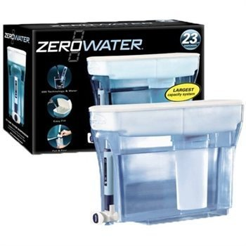 Zero Water 5 stage 23 cup dispenser foodie gift guide