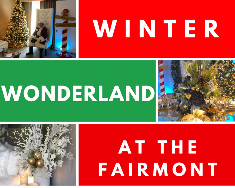Book your winter wonderland weekend at the Fairmont today