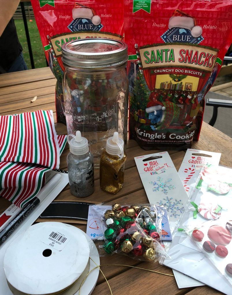 Make your own dog treat jar for your favorite pet